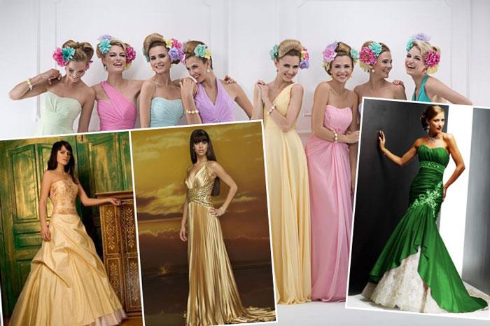 Символика цвета платья на свадьбу