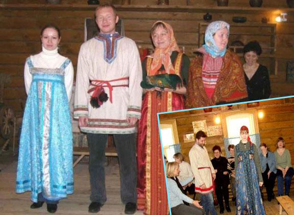 Сценки смотрин на Руси
