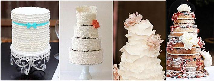 Виды тортов ан свадьбу