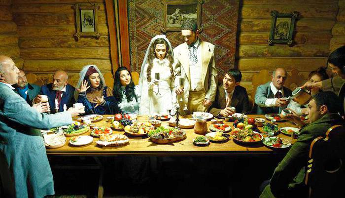Армянское свадебнео торжество