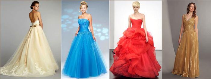 Традиции цвета свадебного платья