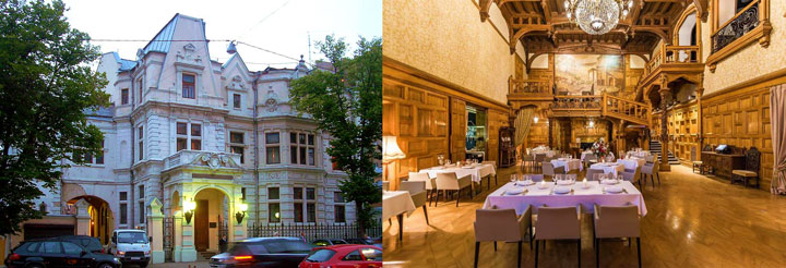 Ресторан для свадеб в Центральном Доме Литераторов Москвы