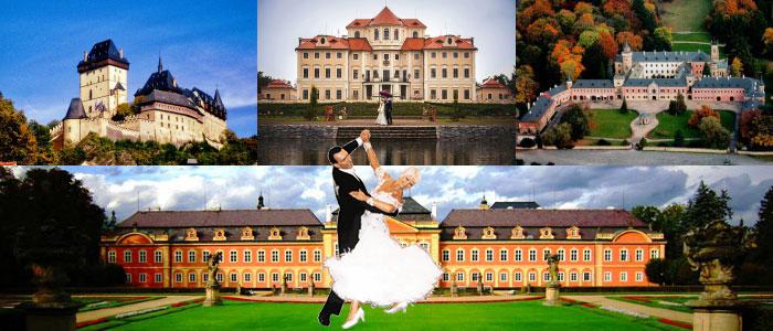 Замки Чехии для свадеб