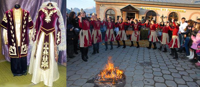 Армянские танцы и свадебные наряды