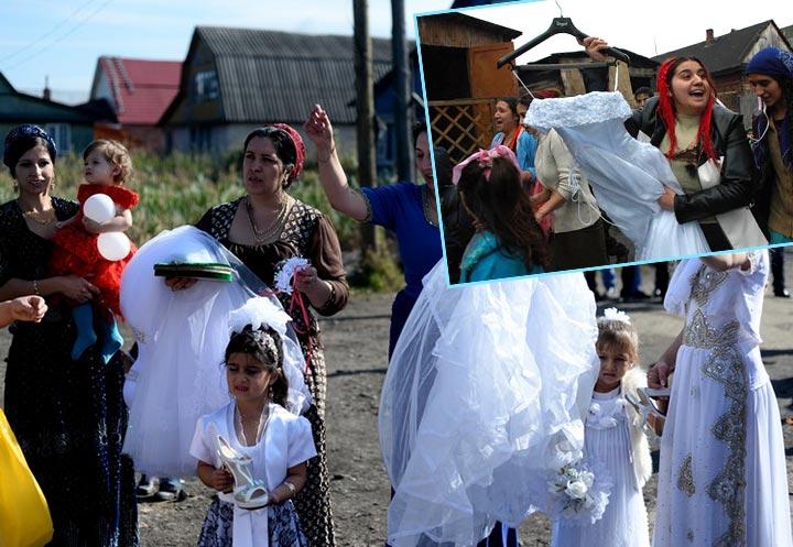 Сценка обряда вынос сорочки невесты у цыган