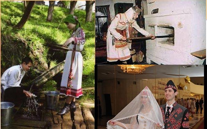 Заключительный ритуал чувашской свадьбы