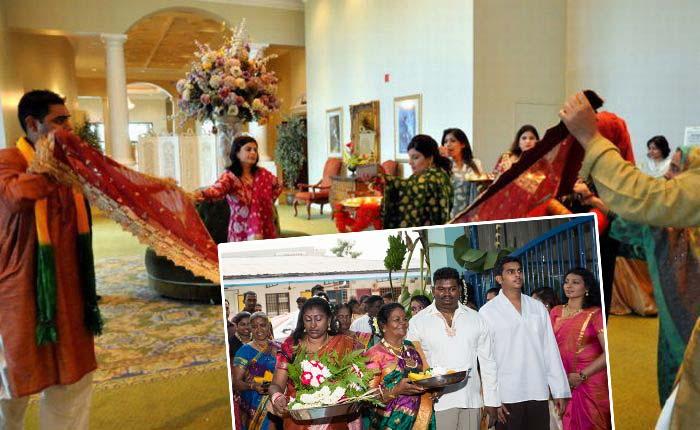 Индийская семейная подготовка свадьбы
