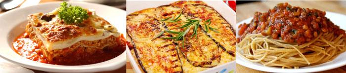 Итальянские спагетти и лазанья