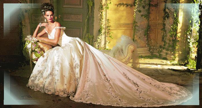 История цвета свадебного платья