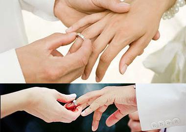 Кто куда одевают обручальное кольцо
