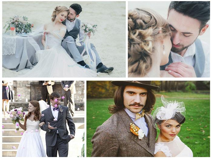 Свадебный образ жениха и невесты Италии