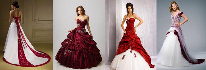 Платье енвесты в бородовом цвете