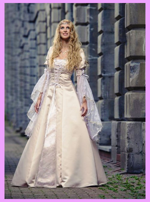 Невеста в рыцарском стиле