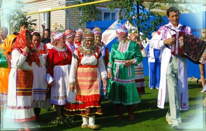 Обычаи чувашской свадьбы