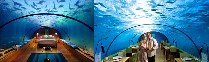 Мальдивы: отели под водой