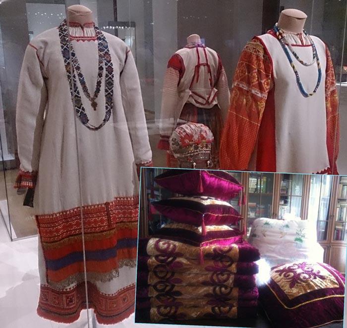 Русские наряды и вещи для приданого