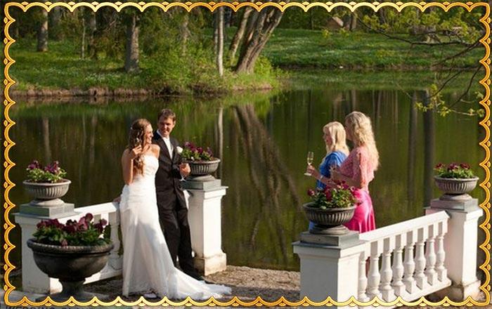 Преимущества свадьбы в усадьбе