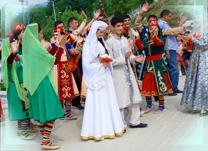 Прмянская традиционная свадьба