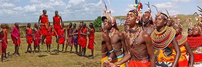 Традиционные наряды на свадьбах в Африке