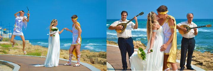 Свадьба в греческом стиле на Кипре