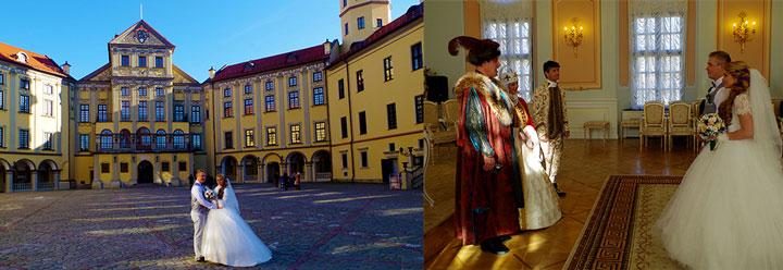 Несвижский замок и свадебная церемония