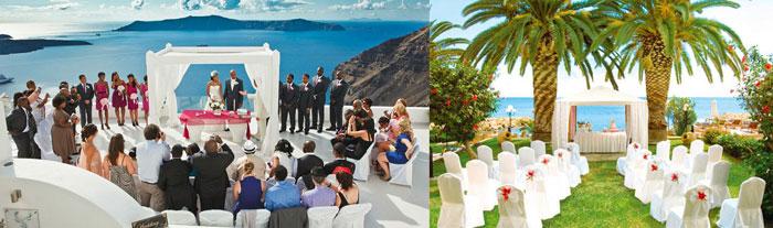 Свадьбы в Кипре и Греции