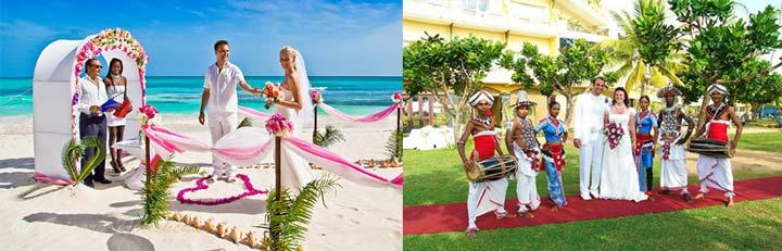 Свадьба на побережье океана