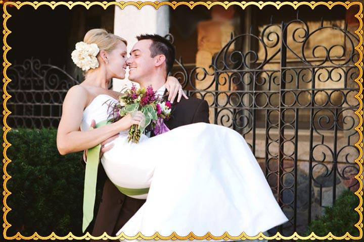 Традиция вносить невесту в дом на руках