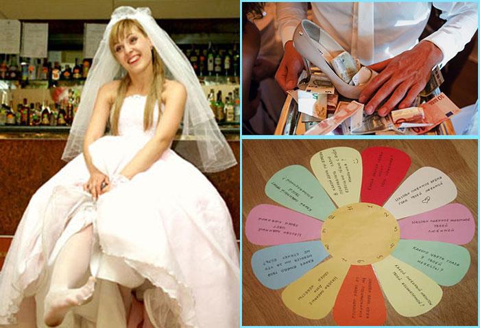 Невеста без туфли и выкуп туфли на свадьбе