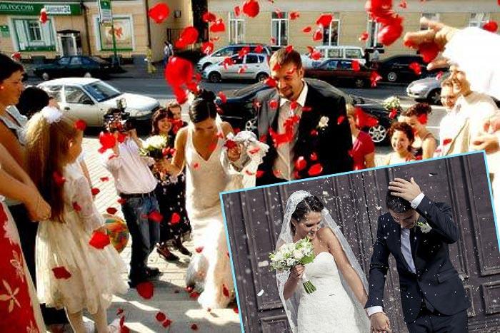 Ритуал свадебного обсыпания