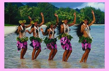 Гавайский девичник