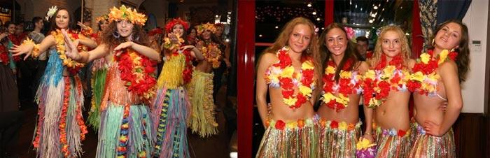 Одежда гавайского девичника