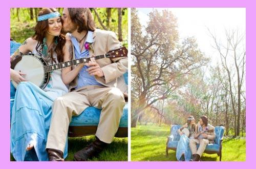 Жених и невеста с гитарой