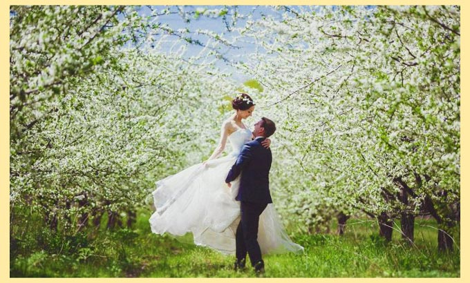 Весеняя свадьба