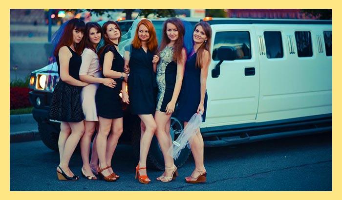 Лимузин и девичник