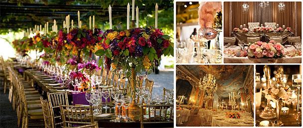 Декор свадьбы в итальянском стиле