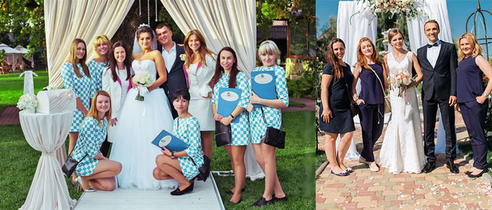 Свадебные распорядители