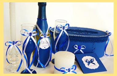 Шампанской и декор свадебный