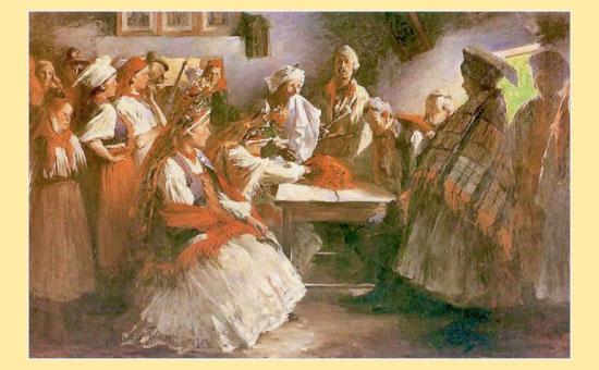 ритуал сватовства
