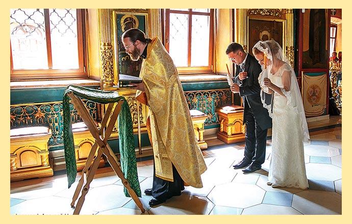 Подготовка к венчанию молитвы и беседы