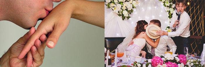 Кнкурс поцелуйчик на свадьбу