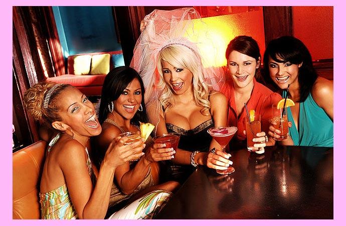 Игры на девичнике в клубе
