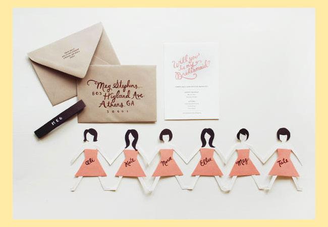 Приглашения куколки на девичник