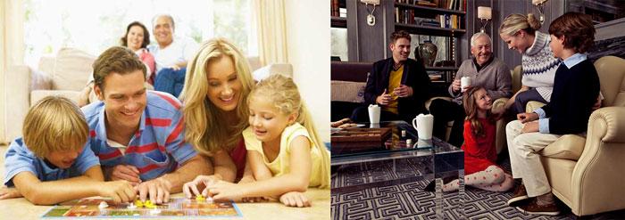 Игры и обычаи семьи