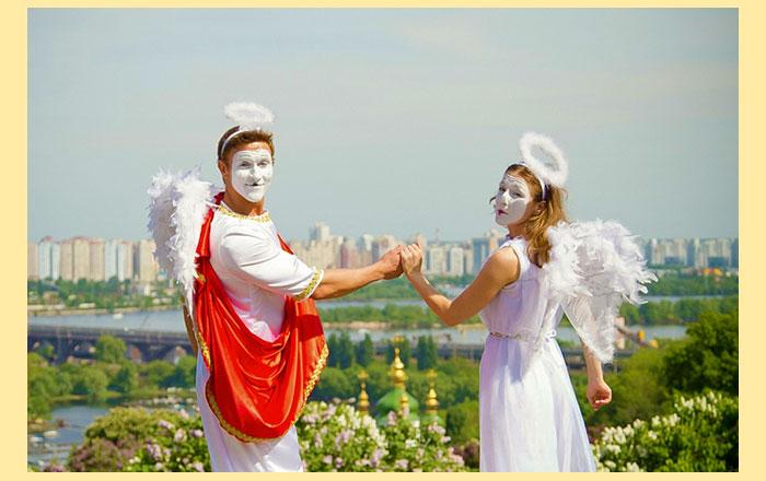 Ведущий на свадьбе Амур