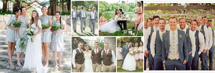 свадебные наряды гостей