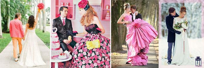 Жених и невеста в стиле Барби