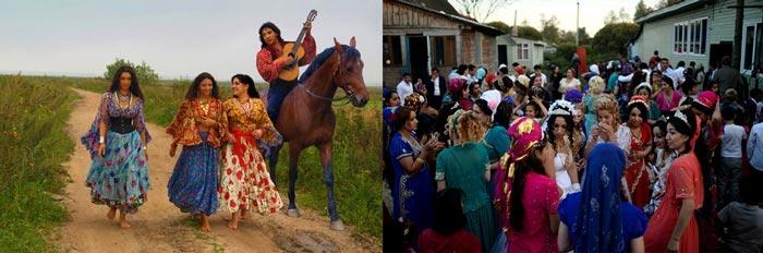 цыганские свадебные обычаи