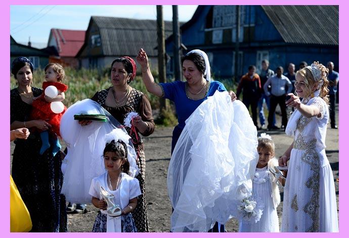 Обрыд невинности невесты у цыган