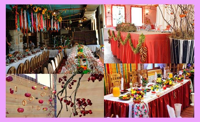 Славянский стиль дял свадьбы